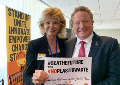with Andrew Forrest