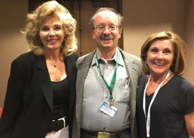 with Amory Lovins and Gail Schwartz