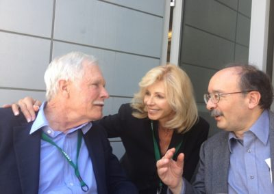 with Ted Turner and Amory Lovins