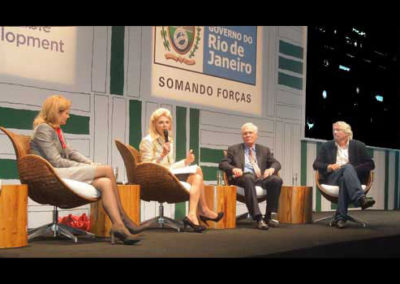 at the World Green Summit in Rio