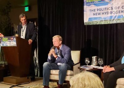 with Tom Steyer