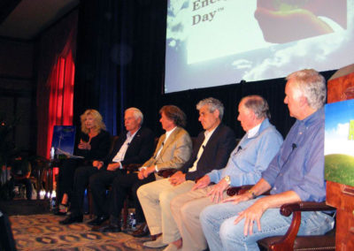 with ted Turner, Michael Polsky, Sam Wyly, T.Boone Pickens and James Cameron