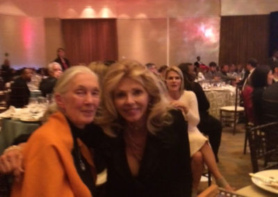 with Jane Goodall